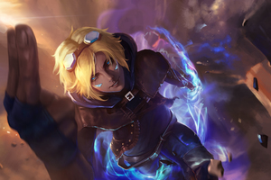 Ezreal League Of Legends 4k