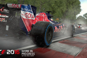 F1 2016 Game Wallpaper