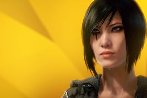 Faith Connors Mirrors Edge Wallpaper