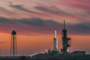 Falcon Heavy Space X Wallpaper
