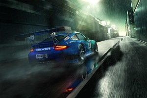 FALKEN Porsche Wallpaper