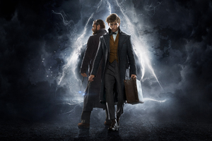 Fantastic Beasts 2 4k Wallpaper