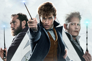 Fantastic Beasts The Crimes Of Grindlewald New Poster Wallpaper