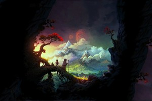 Fantasy Art Colorful