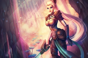 Fantasy Elf Wallpaper
