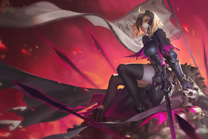 Fate Grand Order Jeanne Darc Alter Artwork