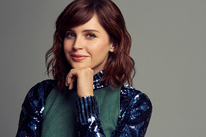 Felicity Jones Smile Wallpaper