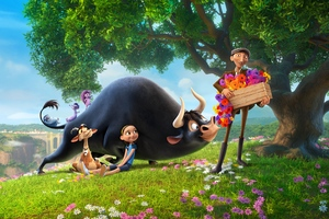 Ferdinand Blue Sky Studios Animated Movie 4k Wallpaper