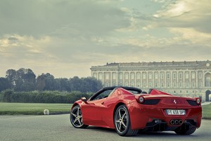 Ferrari 458 Italia Red Wallpaper