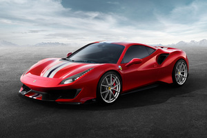 Ferrari 488 Pista 2018 Wallpaper