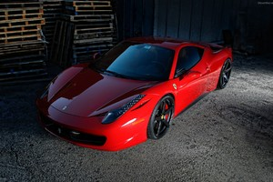 Ferrari Italia 458 Wallpaper