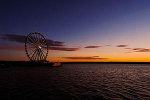 Ferris Wheel Fort Washington 5k Wallpaper