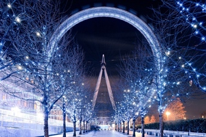 Ferris Wheel London Wallpaper