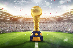 FIFA World Cup Russia 2018 Trophy Wallpaper