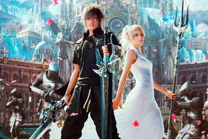 Final Fantasy Xv Artwork