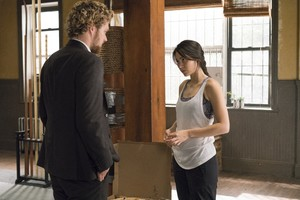 Finn Jones Iron Fist Jessica Henwick