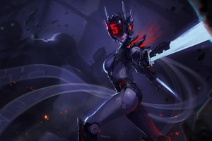 Fiora League Of Legends 4k Wallpaper
