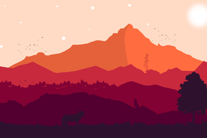 Firewatch 10K Wallpaper