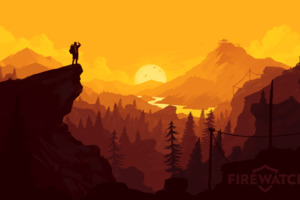 Firewatch PS Game Wallpaper