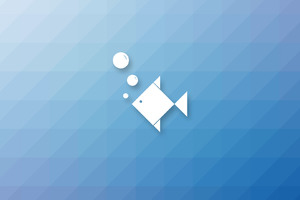 Fish Minimalism Wallpaper