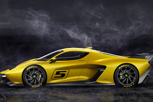Fittipaldi EF7 Vision Gran Turismo Limited Edition Side View Wallpaper