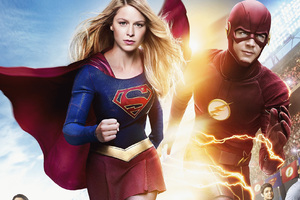 Flash And Supergirl 2018 Wallpaper