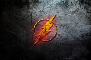 Flash Logo Dc Comic Wallpaper