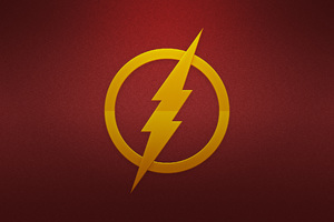 Flash Logo Wallpaper