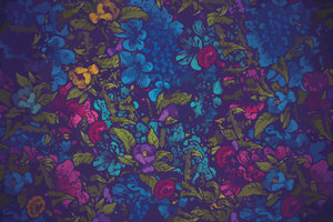 Floral Pattern Abstract Wallpaper