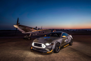 Ford Eagle Squadron Mustang GT 4k Wallpaper