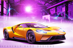 Ford Gt 2018 New