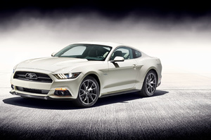 Ford Mustang GT 50 Years Edition Wallpaper