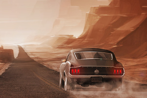 Ford Mustang Long Road Out Of Eden Wallpaper