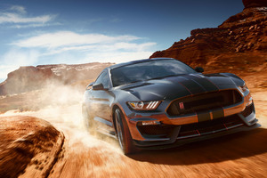 Ford Mustang Shelby GT350 2018 Wallpaper