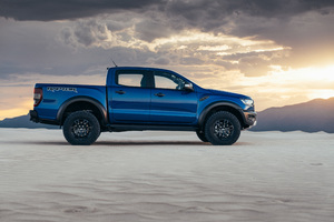 Ford Ranger Raptor Side View 2019