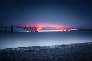 Forth Rail Bridge Scotland 5k Wallpaper