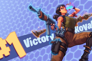 Fortnite 2018 Victory Royale Wallpaper