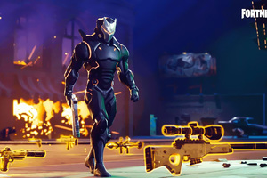 Fortnite Season 5 Omega Wallpaper