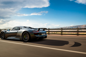 Forza Horizon 3 Porsche 918 Spyder Wallpaper