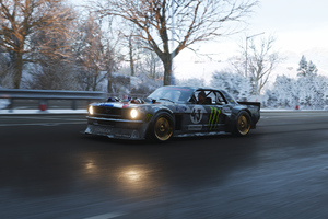 Forza Horizon 4 Ford Mustang Hoonicorn 4k Wallpaper