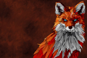 Fox Artwork Wallpaper