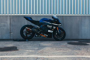 Fredrik Ericsson Yamaha R1 Side View Wallpaper