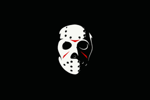 Friday The 13th The Game Minimalism Dark 4k