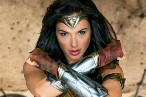 Gal Gadot As Wonder Woman 2017