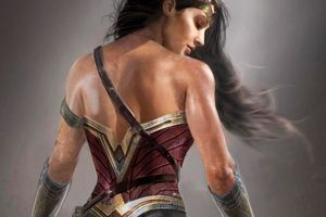 Gal Gadot Wonder Woman Artwork Wallpaper