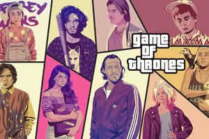 Game Of Thrones Poster Like GTA 5