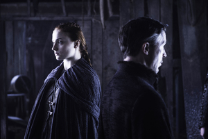 Game Of Thrones Sansa Stark And Lord Petyr Baelish Wallpaper