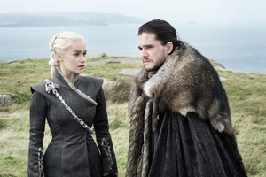 Game Of Thrones Season 7 Daenerys And Jon Snow 4k