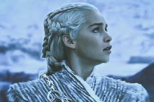 Game Of Thrones Season 8 Daenerys Targaryen Wallpaper
