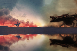 Game Of Thrones War Has Started Artwork 4k Wallpaper